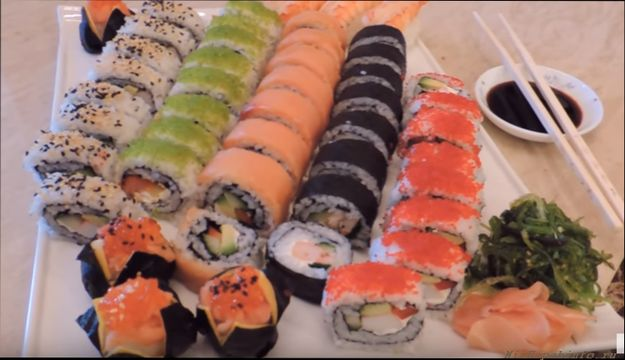 как делать суши в домашних условиях и роллы