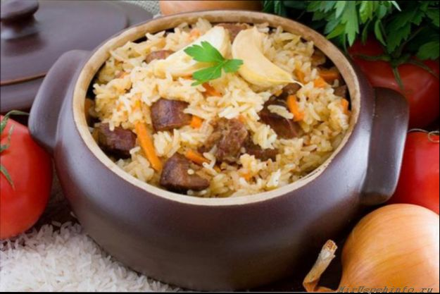 Видео рецепты плова узбекского в казане