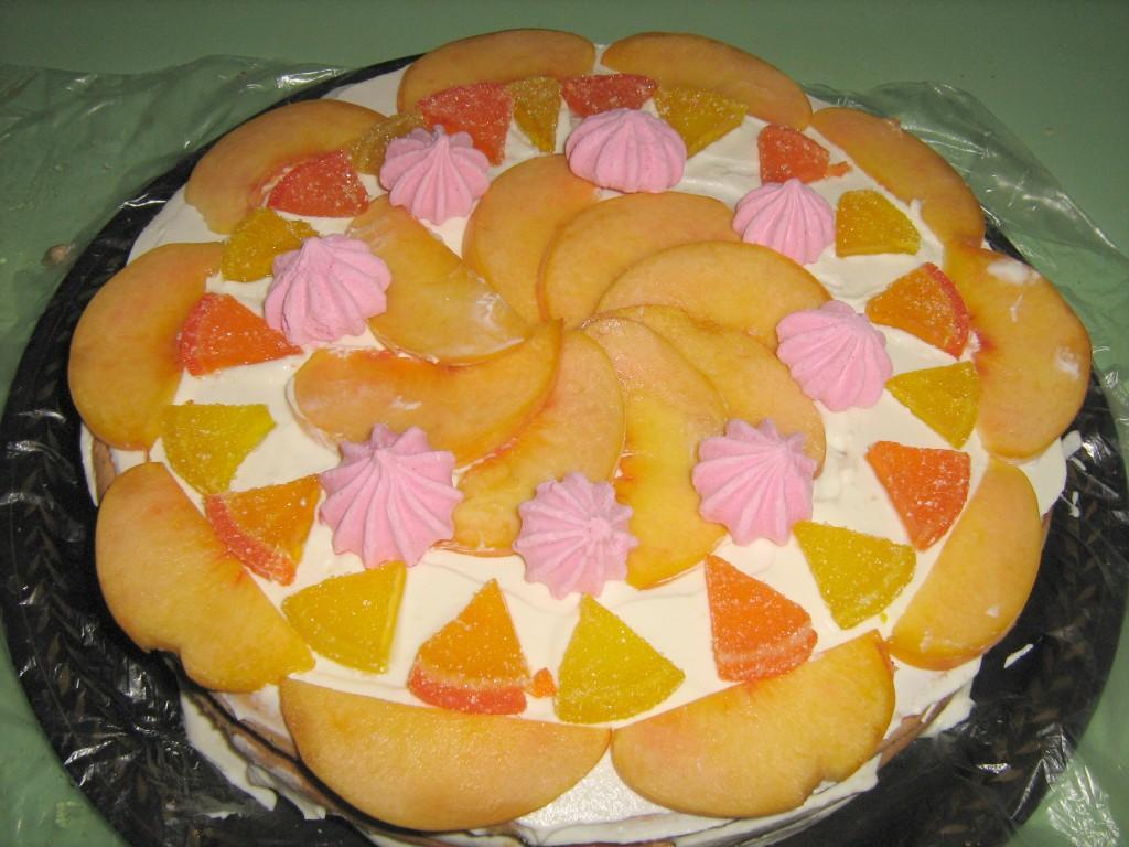 Торт не требующий выпечки