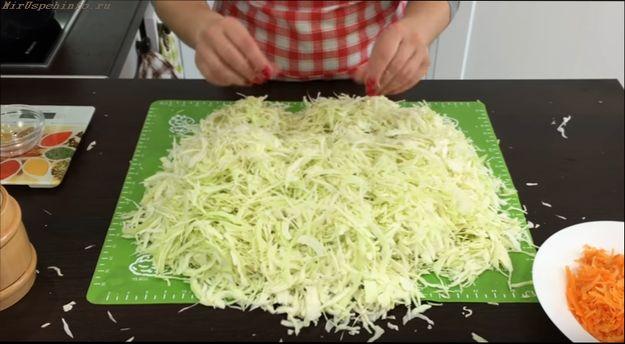 Рецепт как приготовить квашеную капусту в домашних условиях