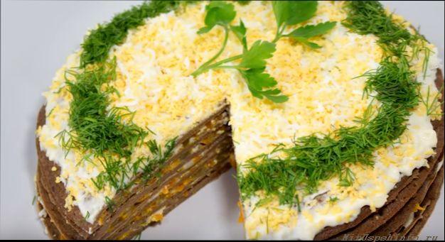 Печеночный торт рецепт и фото