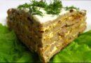 Печеночный торт: пошаговый рецепт из куриной и говяжьей печени