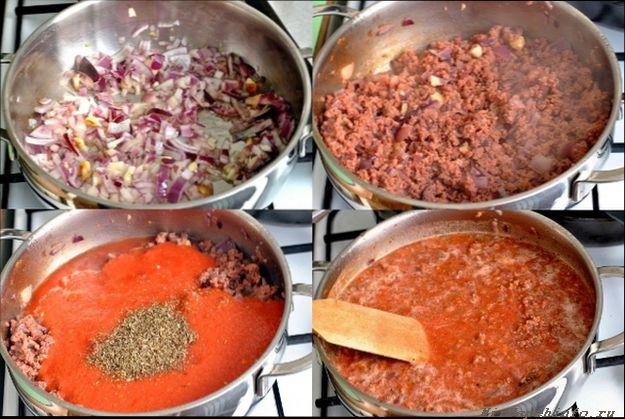 Рецепты приготовления лазаньи с фаршем в домашних условиях