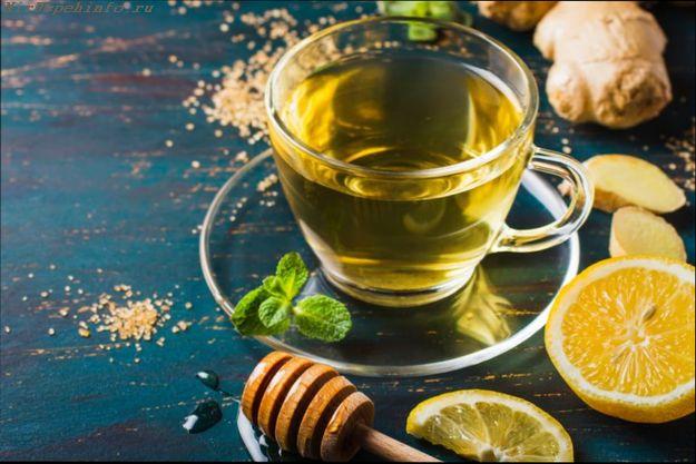 Чай с имбирем и лимоном для похудения