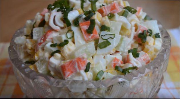 Еврейский салат классический  еврейская закуска из