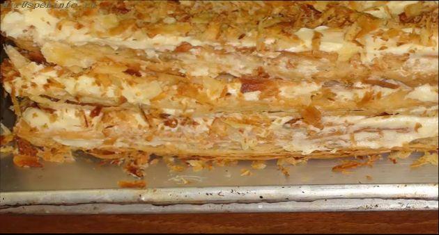 Рецепт простого вкусного торта наполеон