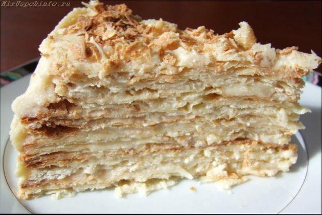 Торт наполеон точный рецепт