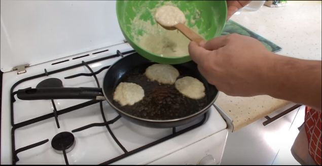 Оладьи из кабачков сладкие на кефире рецепт 166