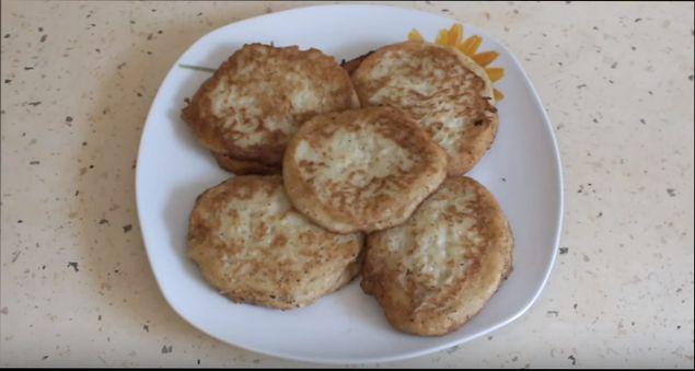 Оладьи из кабачков рецепт фото на кефире