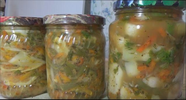 Патиссоны с огурцами на зиму рецепты вкусные