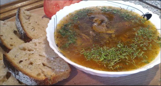 Суп из свежих грибов — простой пошаговый рецепт