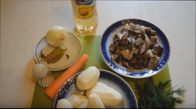 грибной суп с белыми грибами и перловкой рецепт