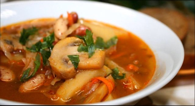 Суп с грибами — классические рецепты