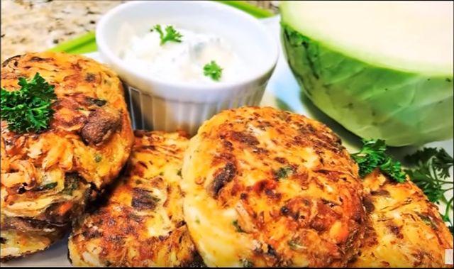 Капустные котлеты из белокочанной капусты — простые рецепты