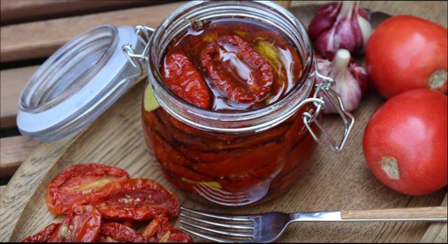 как заготовить вяленые помидоры на зиму