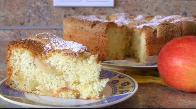 пирог яблочный из готового слоеного дрожжевого теста рецепты с фото