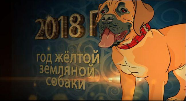Символ 2018 года