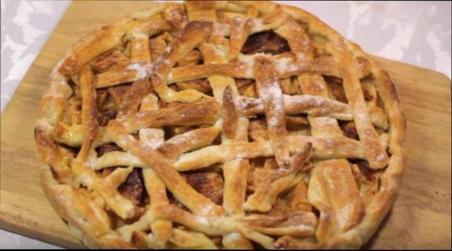 рецепт дрожжевого теста для пирога с яблоками рецепт #10