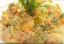 Классический рецепт оливье с колбасой и солеными огурцами — вкусный, традиционный салат