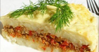 Картофельная запеканка — рецепты запеканки из картошки с фаршем или мясом в духовке