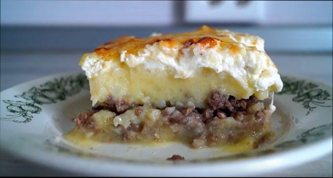 Картофельная запеканка - рецепты запеканки из картошки с фаршем или мясом в духовке