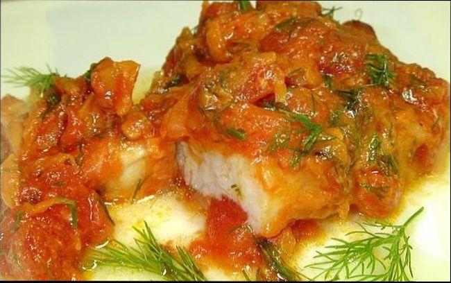 рыба под маринадом классический рецепт с фото