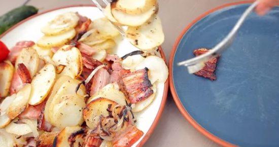 Приготовление жареной картошки пошагово 37
