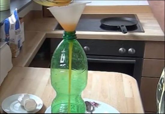 Тоненькие блинчики из бутылки
