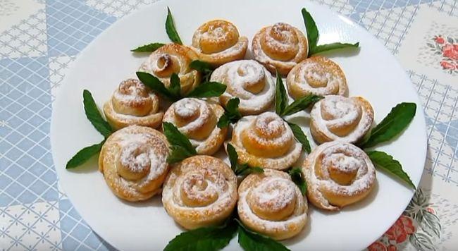 Печенье из творога «Розочки