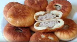 Беляши с мясом пожаренные на сковороде - Домашние рецепты