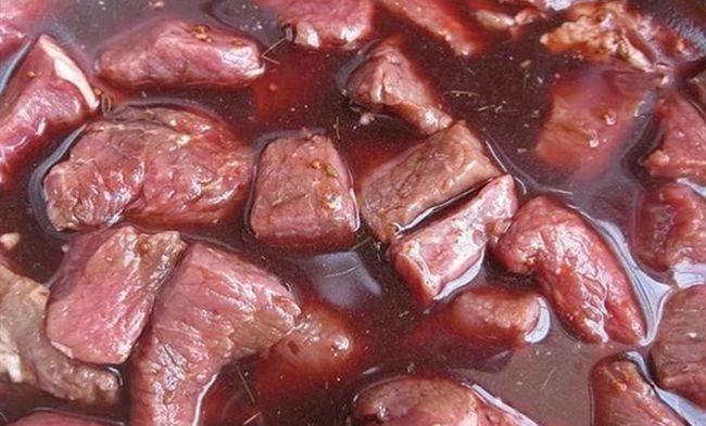 Маринад для шашлыка из свинины с добавлением гранатового сока