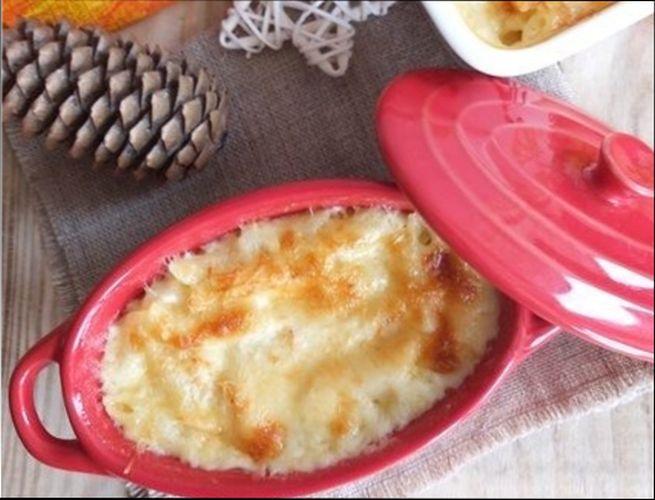 Классические макароны с сыром, запеченные в духовке