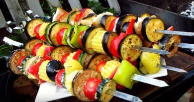 Овощи на мангале запеченные на углях, как вкусно приготовить овощи — гриль