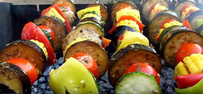 Как правильно приготовить овощи на мангале