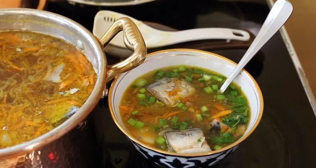 Рыбный суп с любых консервов