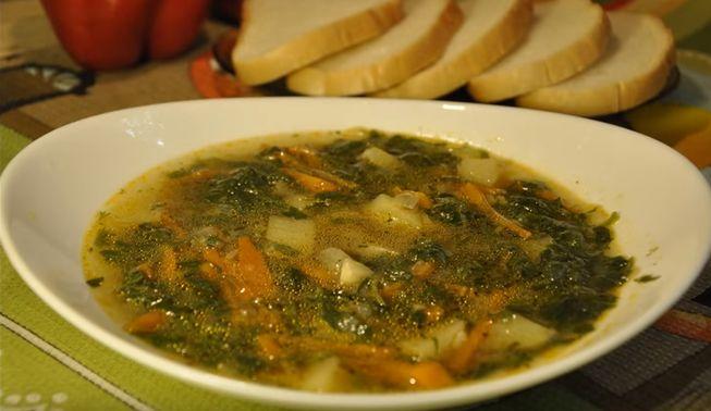 Как приготовить суп из крапивы с мясом