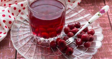 Вкусный компот из вишни на зиму приготовленный по домашнему рецепту