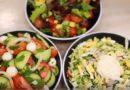 Летние салаты из свежих овощей с грядки — легкие рецепты дачника