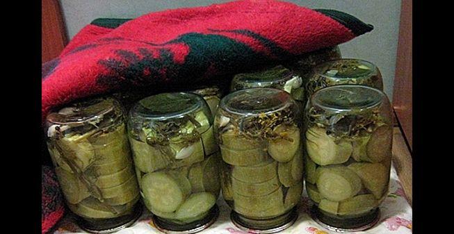 Маринованные кабачки на зиму без дополнительной стерилизации