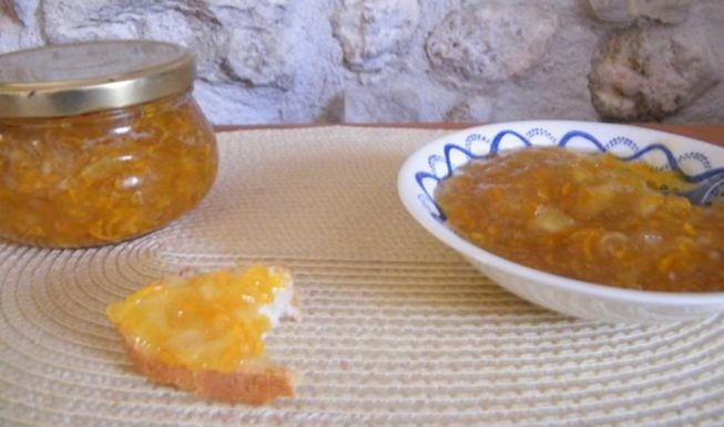Кабачковое варенье с яблоками яблоками и корицей