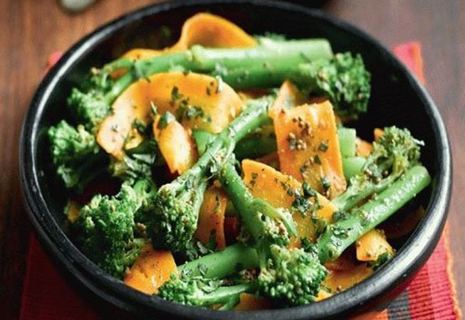 Заготовки на зиму из брокколи с морковью