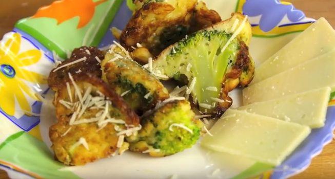 Рецепт приготовления капусты брокколи в кляре