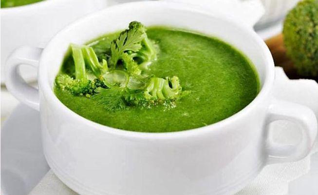 Витаминизированный, полезный суп-пюре из капусты брокколи