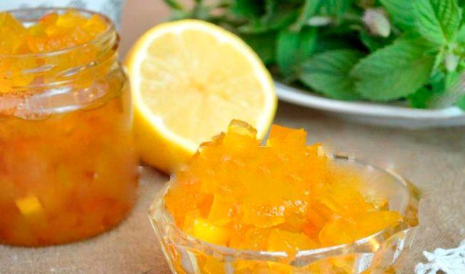 варенье на арбузных корках с лимоном и апельсином