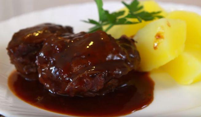 готовим необычный соус к мясу