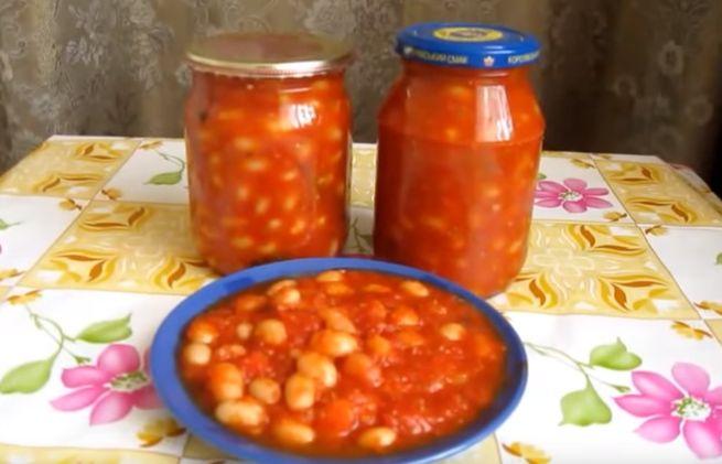 Классический рецепт консервации белой и красной фасоли