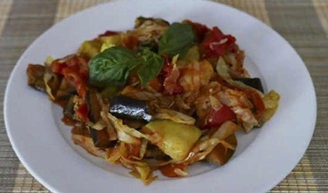 Как быстро приготовить овощное рагу с кабачками и баклажанами