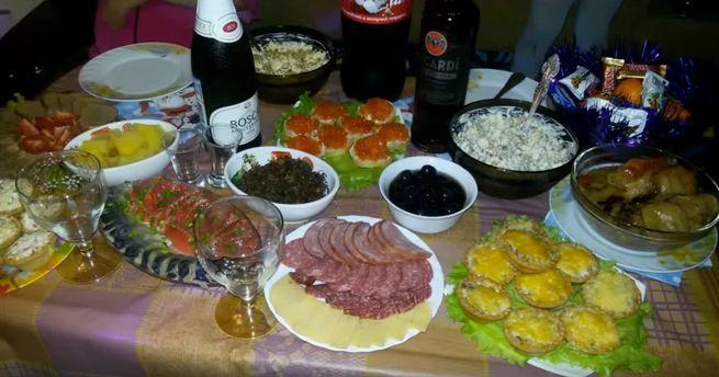 Новогодние закуски для встречи нового 2019 года