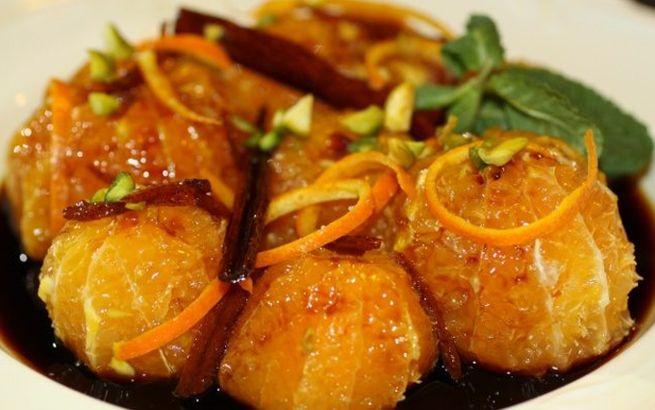 Карамелизированные мандарины