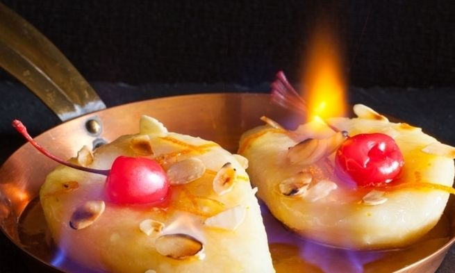 Вкусная огненная груша